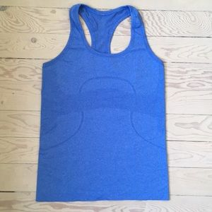 Lululemon blue Swiftly tank top
